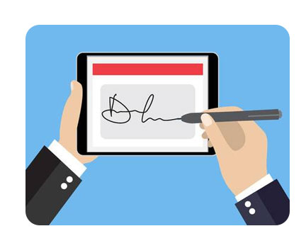 dotfront online electronic signature platform