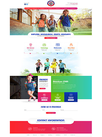 Health Care Custom website design